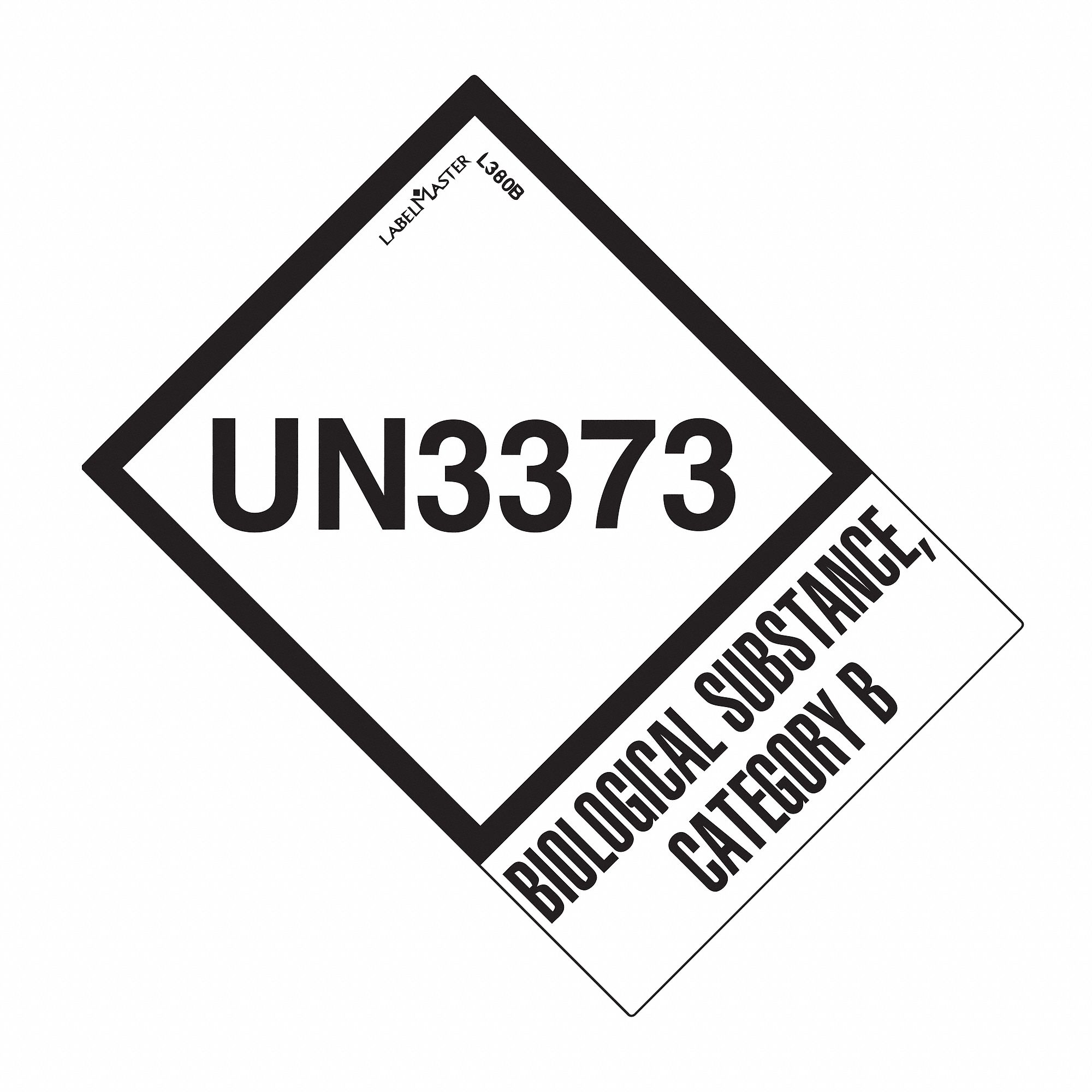 LABELMASTER UN3373 Biological Substance Category B Class
