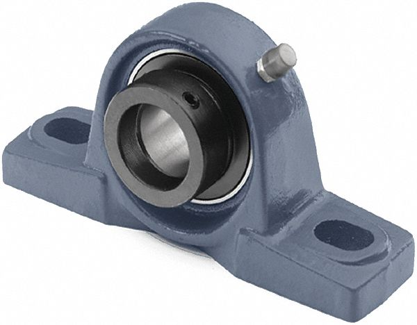 pillow block bearing number of bolts 2 ball bearing type 1 1 4 in bore dia
