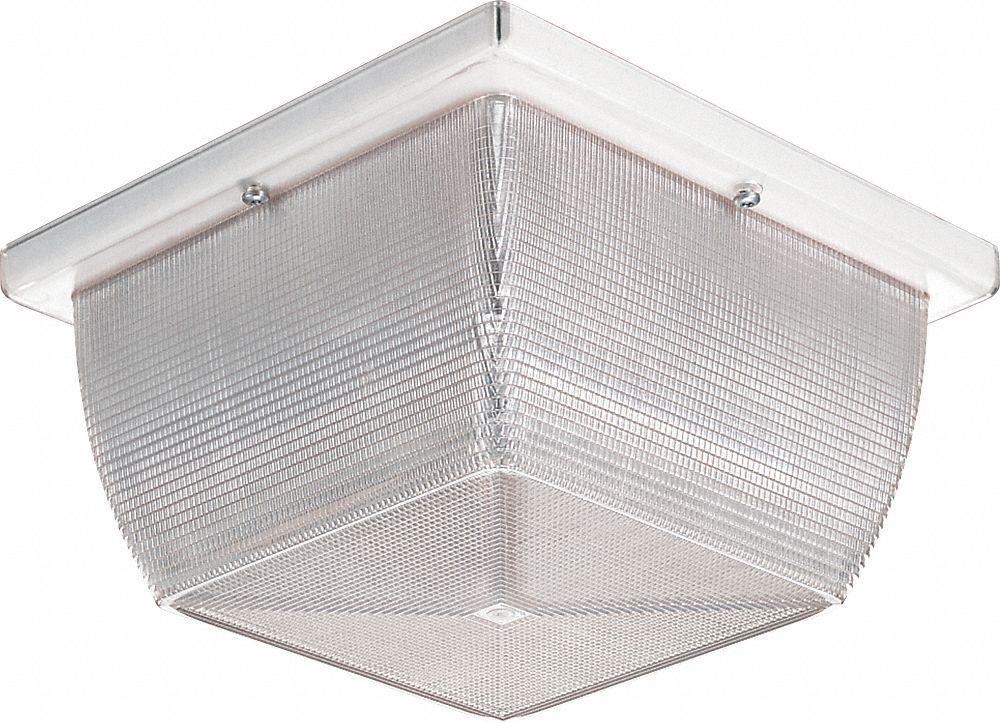 high abuse canopy light incandescent square fixture shape 3 500 k color temperature