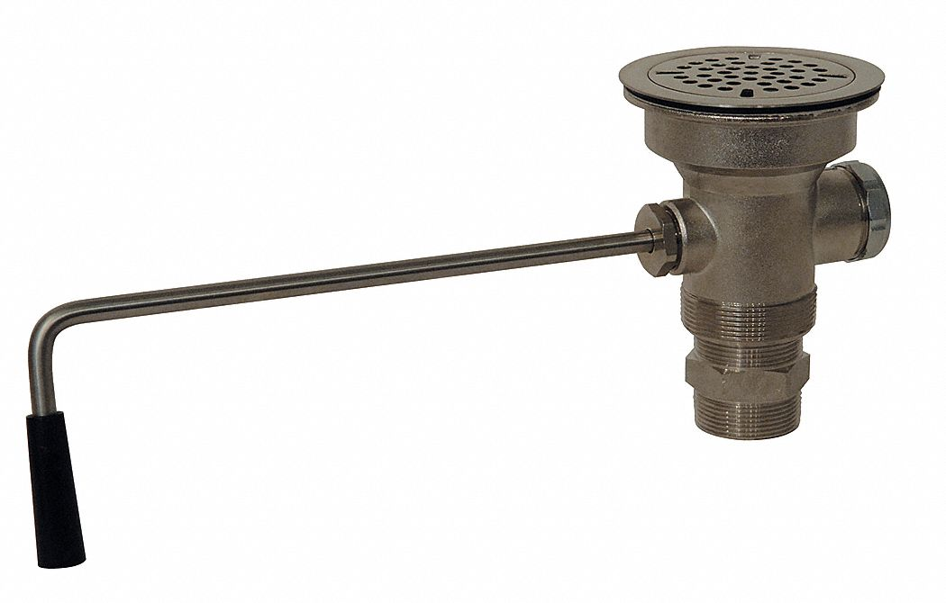brass sink drain 3 1 2 in pipe dia drains ips x npt connection drains