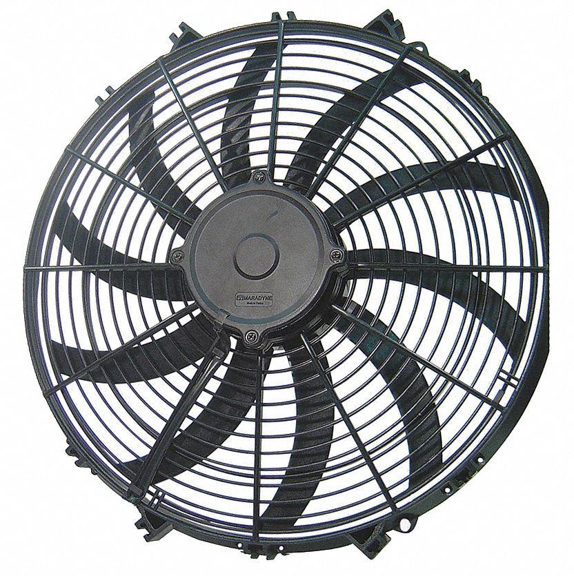 15 7 8 in x 16 3 8 in 12v dcv high performance exhaust fan