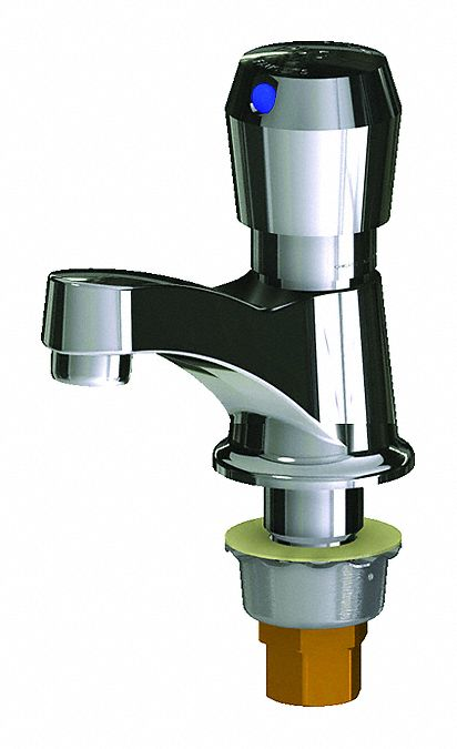 chrome low arc bathroom sink faucet manual faucet activation 1 0 gpm