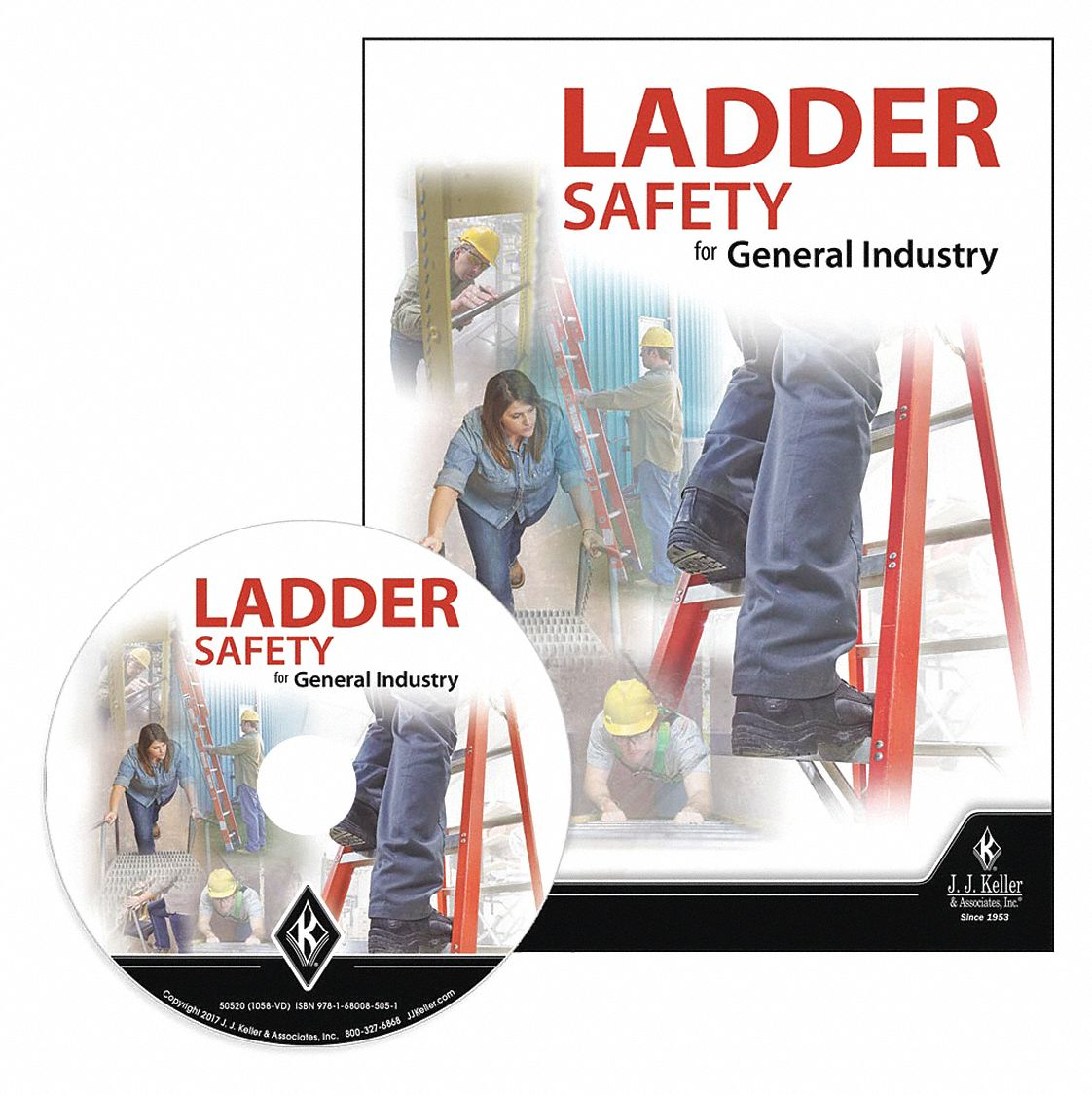 book booklet cd rom dvd paper form poster wallet card ladder safety english spanish