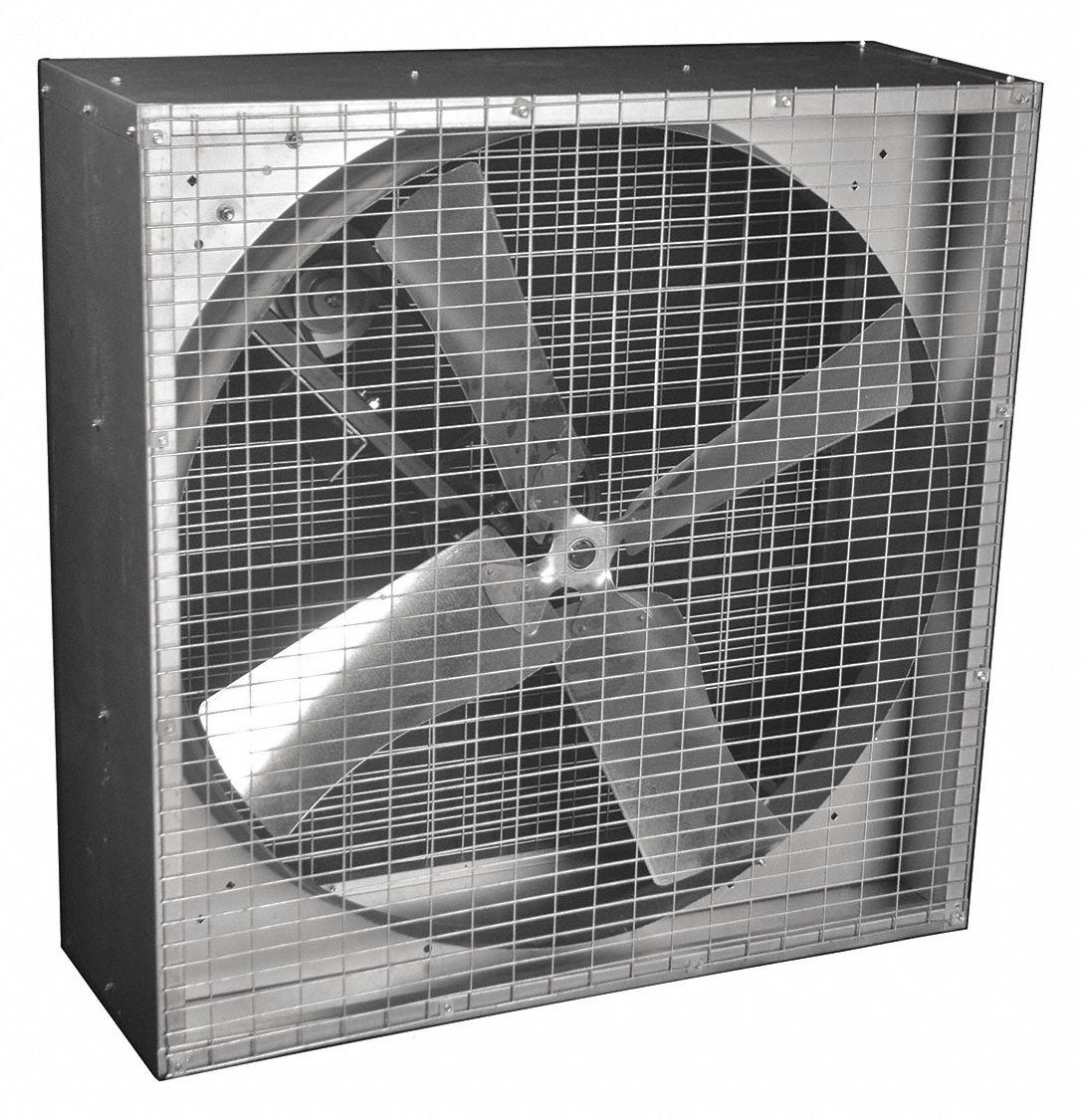 DAYTON Belt Drive Less Motor Agricultural Exhaust Fan 3