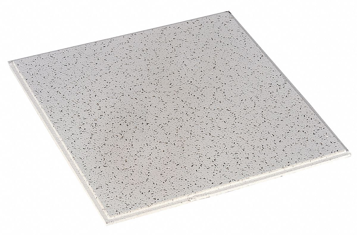ceiling tile width 24 in length 24 in 5 8 in thickness mineral fiber pk 16