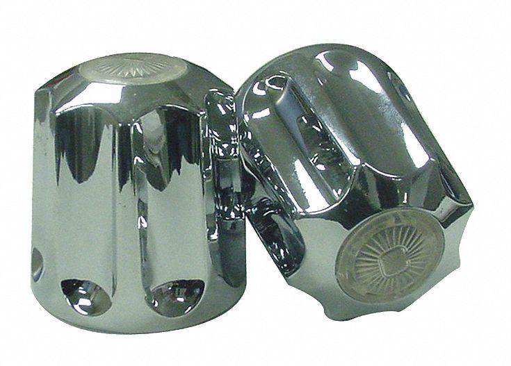 gerber shower bath faucet handles long broach chrome 1 pr