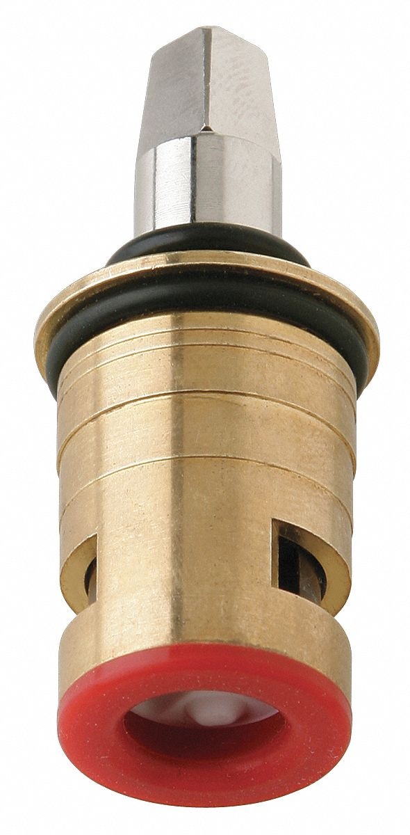 lh ceramic cartridge fits brand chicago faucets brass brass finish