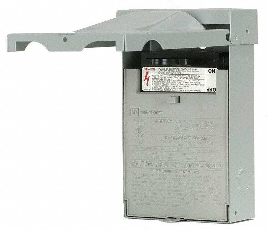 EATON Nonfusible Air Conditioning Disconnect Switch
