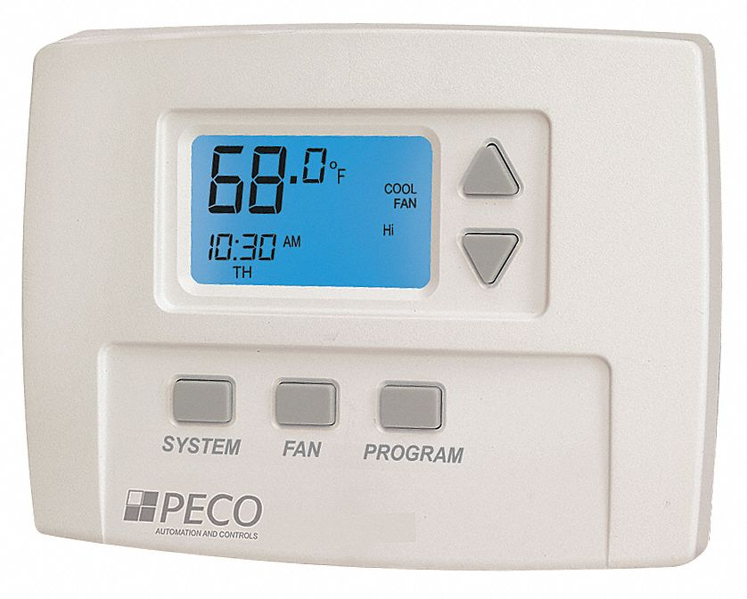 [WRG2562] Peco Thermostat Wiring Diagram