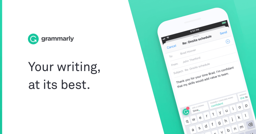 Grammarly: Free Online Writing Assistant