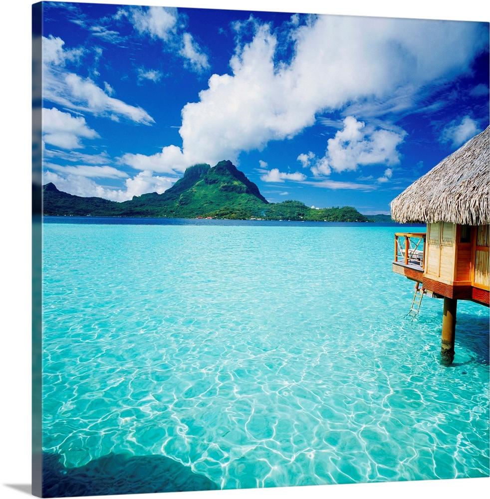 French Polynesia, Bora Bora Pearl Beach Resort and Spa ...