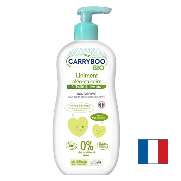 Carryboo - 2x Liniment Oléo-Calcaire BIO Sans Parfum (450ml)