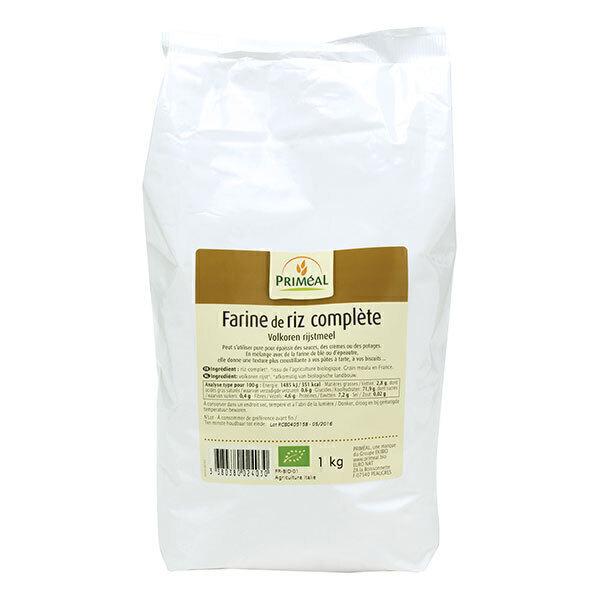 farine de riz complet france 1kg