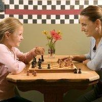Juegos de niños. El ajedrez