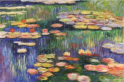 le ninfee di Monet