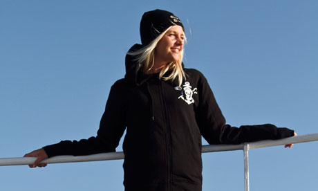 British Sea Shepherd volunteer Natalie Fox
