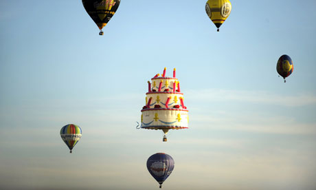 balloon in Warstein