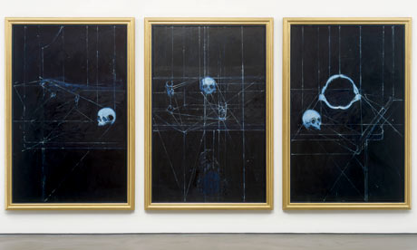 Damien Hirst's The Meek Shall Inherit the Earth (2008) at the Wallace Collection