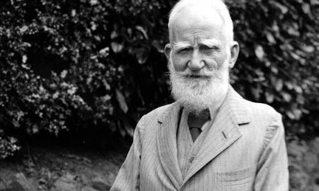 George Bernard Shaw, Irish theatre critic turned playwright