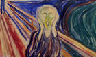 Art theft: Edvard Munch's The Scream