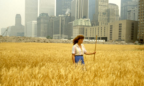 Agnes Denes: Wheatfield A Confrontation. Radical Nature at the Barbican
