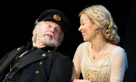 Derek Jacobi and Fiona Button in Heartbreak House