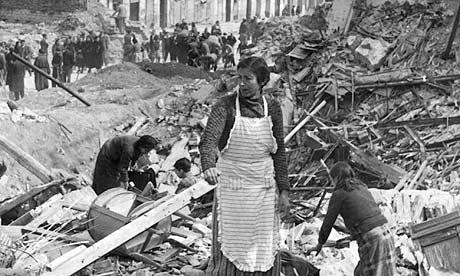 Madrid during the Spanish civil war