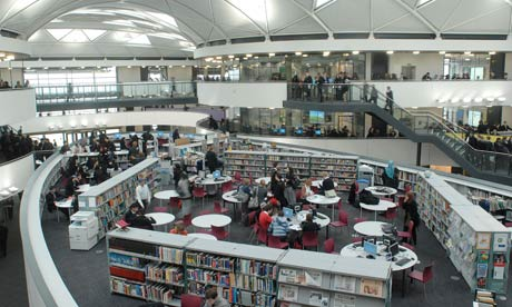An academy library