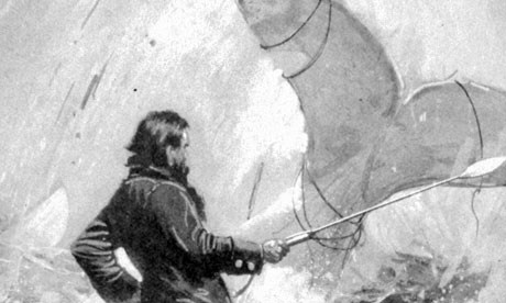 Image result for Ahab fights moby dick