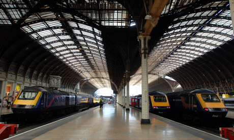Image of great western railway in Paddington