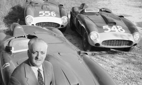 Readying Ferraris For Monaco