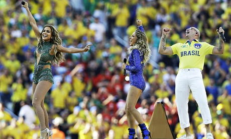 Jennifer Lopez at World Cup, Brazil