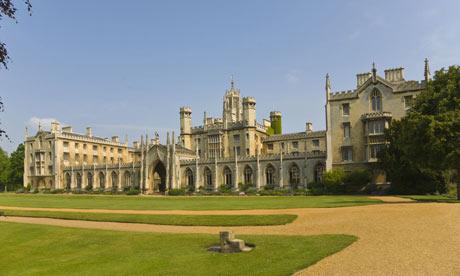 St John's College, Cambridge university