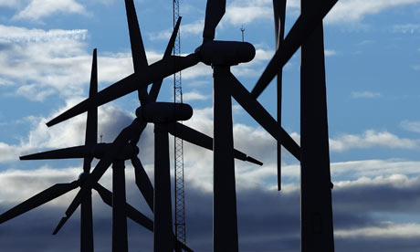 Wind Turbines at Royd Moor in South Yorkshire