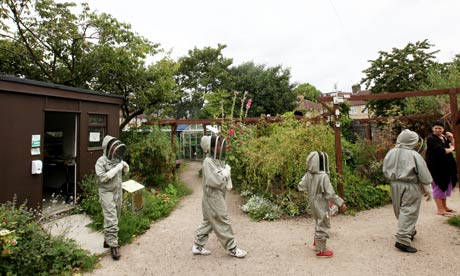 beekeepers on parade
