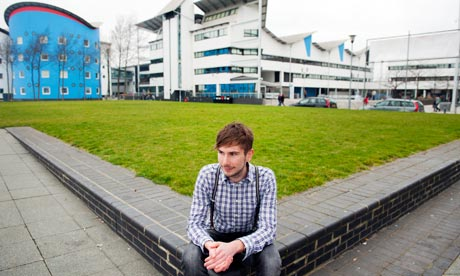 Tom Vonier, student at UEL