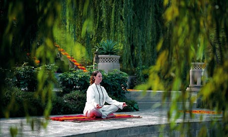 The secular meditation courses now being rolled out by the NHS do not involve sitting cross-legged