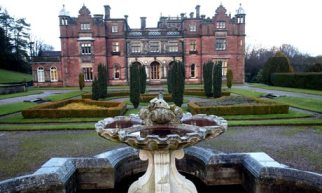 Keele Hall at Keele University.