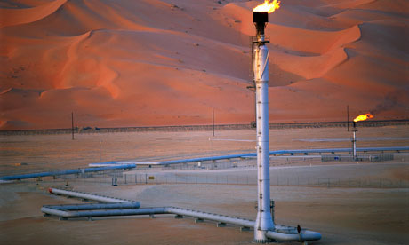 Saudi Arabian oil field