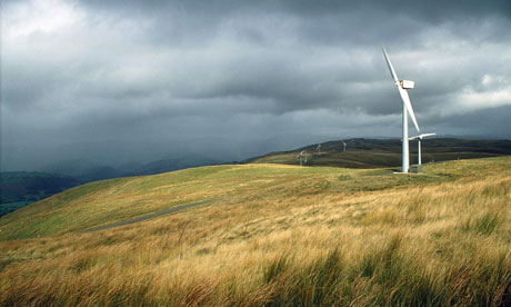 Leo Blog : Wind turbines In Llandinam, Wales