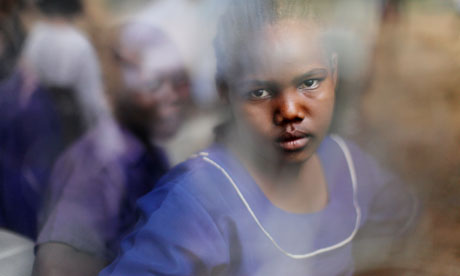 MDG : Young girl in class at Makuyuni school in the Monduli District, Tanzania, Africa.