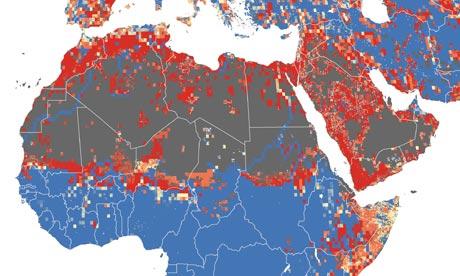 Maplecroft Water Stress Index 2011