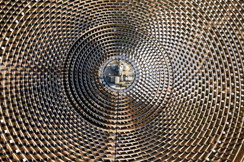 Gemasolar 15 MW Parabolic Power Plant in Spain