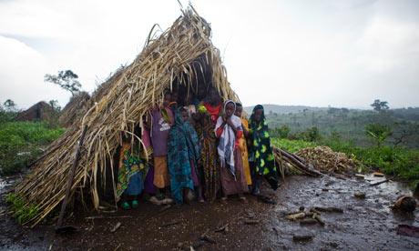 Land grab in Uganda : Evicted people