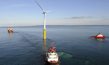 Hywind: Siemens and StatoilHydro install first floating wind turbine