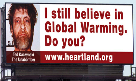 Leo blog : The Heartland Institute conference billboard in Chicago