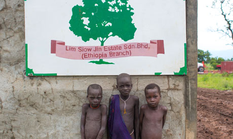 MDG : Ethiopia : Suri tribe in Omo valley and relocation and landgrabbing