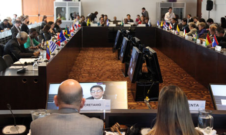 MDG : ECLAC conference in Bogota on Follow-up to the development agenda beyond 2015 and Rio+20