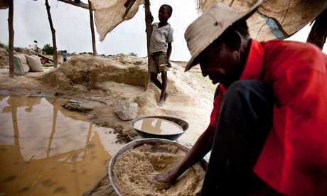 MDG : Gold mining in Tanzania and child labour