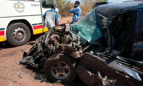 MDG : Road safety in Africa : Road accident in Mali